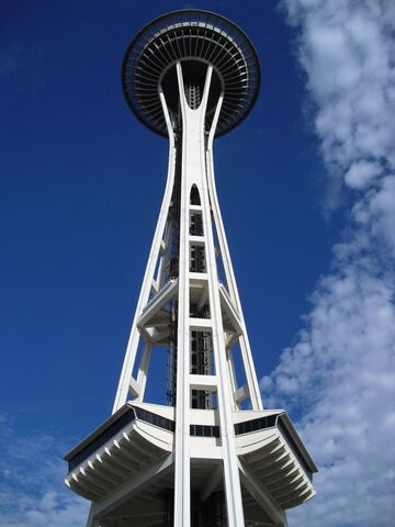File:Space Needle at ground level.jpg