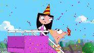 Isabella says uh to Phineas