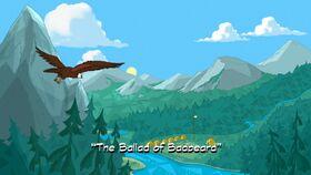 The Ballad of Badbeard title card