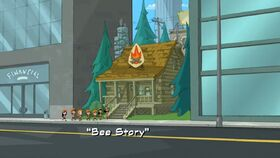 Bee Story title card