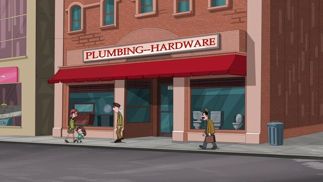 File:People front on the pluming hardware store.jpg