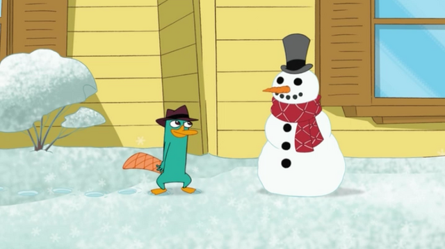 File:Perry and a Snowman.PNG