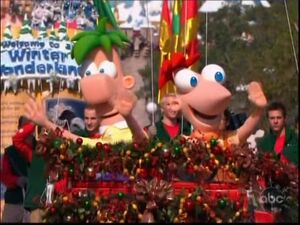 Phineas and Ferb at Disney World