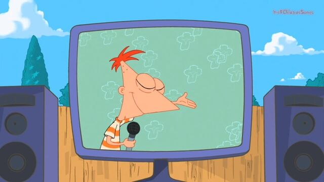 File:Phineas introducing Candace's song to Mom.jpg