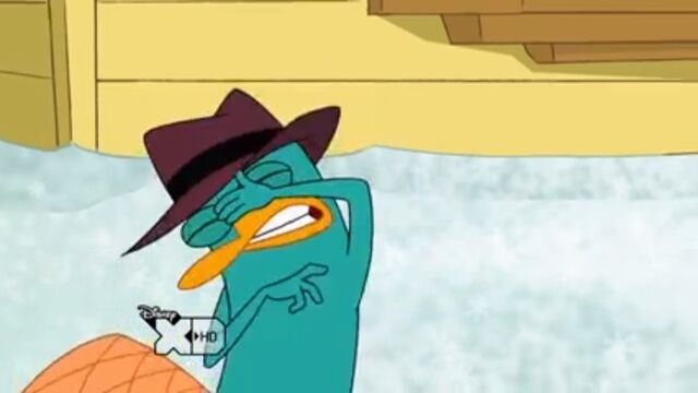 File:Perry winces as the snowman gets hit by a plow.jpg