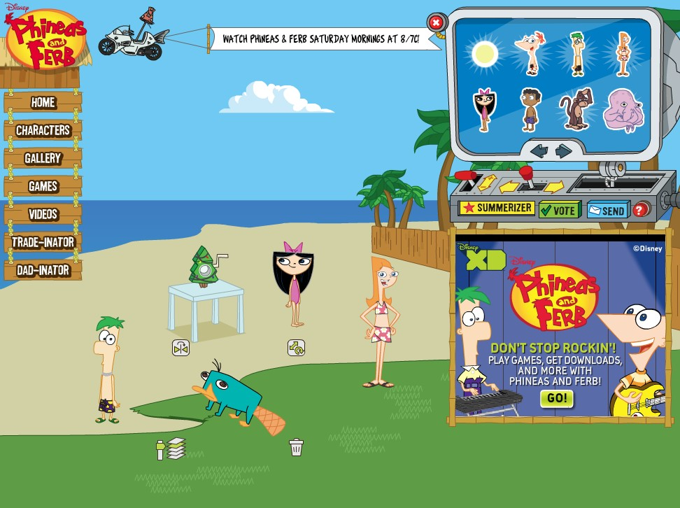 of phineas and ferb wiki fandom powered by wikia