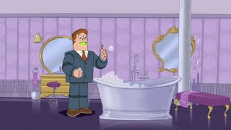 Norm blowing bubbles