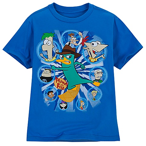 phineas ferb t shirts adults