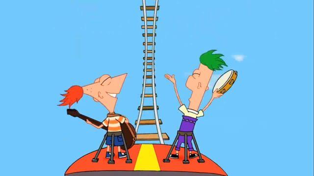 File:P&F singing on rollercoaster (behind view).jpg