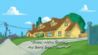 Dude, We're Getting the Band Back Together title card