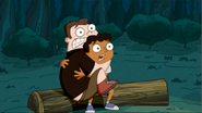 Buford and Baljeet scared