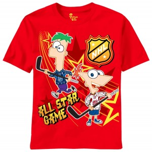 Phineas and Ferb NHL