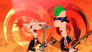 Punk pock Phineas and Ferb