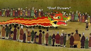 Doof Dynasty title card