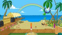 Backyard beach revealed
