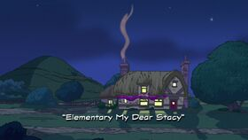 Elementary My Dear Stacy title card