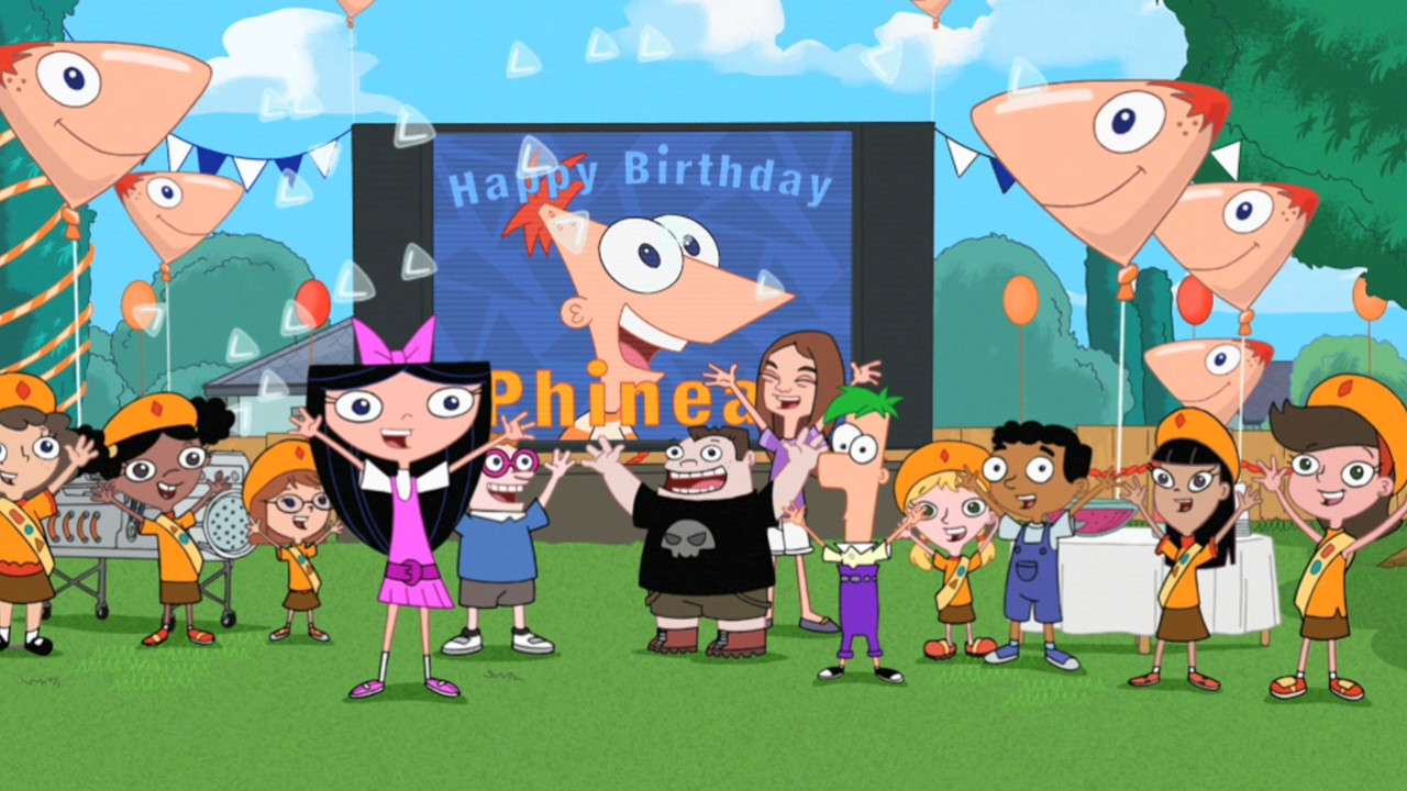 Phineas Birthday Clip O Rama Phineas And Ferb Wiki