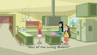 Day of the Living Gelatin title card