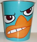 Fierce Perry trash can