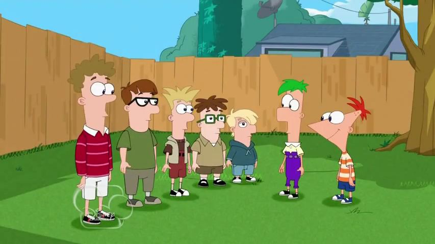 image phineas ferb amp the cousinsjpg phineas and ferb