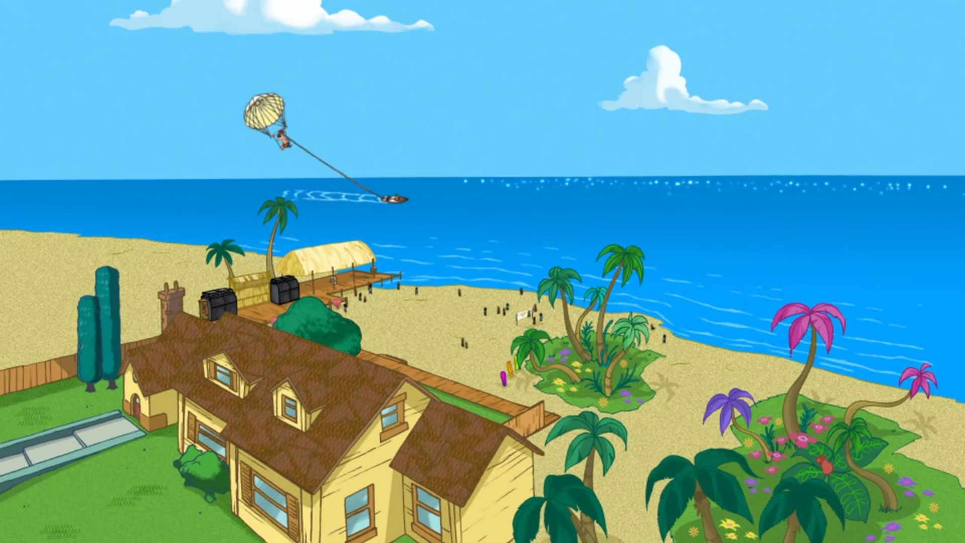 backyard beach phineas and ferb wiki fandom powered by wikia