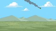 REGURGITATOR flying through the air