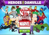 Heroes of danville title menu