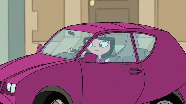 Tập tin:Isabella in her car.jpg
