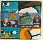 Phineas and Ferb Micro Mink sheet and pillowcase set by JF&S