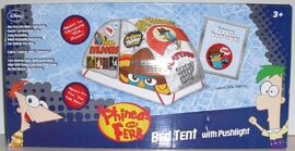 Phineas and Ferb Bed Tent with Pushlight