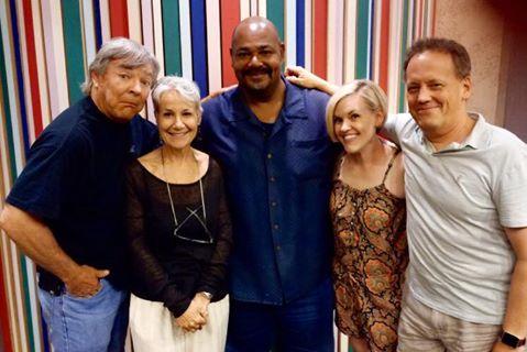 File:Kari Wahlgren with Frank Welker, Andrea Romano, Kevin Michael Richardson, & Dee Bradley Baker.jpg