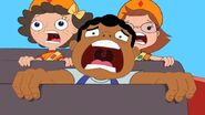 Baljeet screaming - rollercoaster