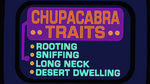 S4E18 Cupacabra Traits