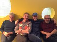 Rob Paulsen with Townsend Coleman, Cam Clarke, & Barry Gordon