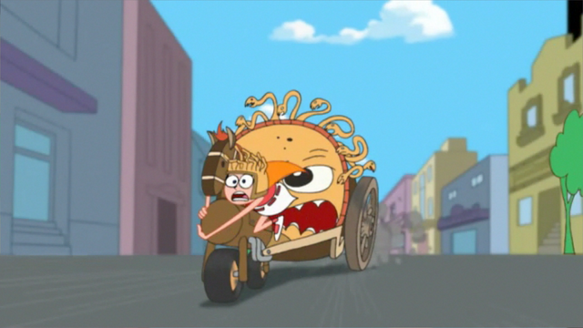 File:Candace clinging onto the chariot.png