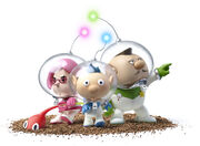 Captains Pikmin 3