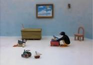Pingu's food