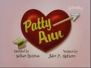 Patty Ann Title Card