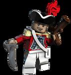 Lego KingGeorgesOfficer
