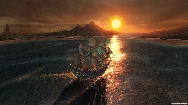 File:Sailing sunset.jpg