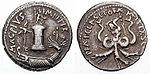 Denarius Sextus Pompeius-Scilla