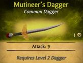 Mutineer's Dagger