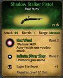 Shadow Stalk Pistol