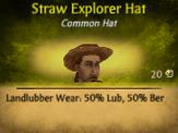 M Straw Explorer Hat