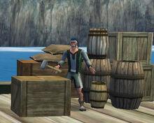 Dockworker Fletcher Port Royal