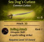 Sea Dog's Cutlass