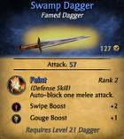 Swamp dagger - clearer