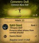 Cemetery Voodoo Doll