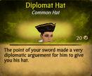 Diplomat hat