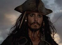 Jack Sparrow In Pirates of the Caribbean- At World's End